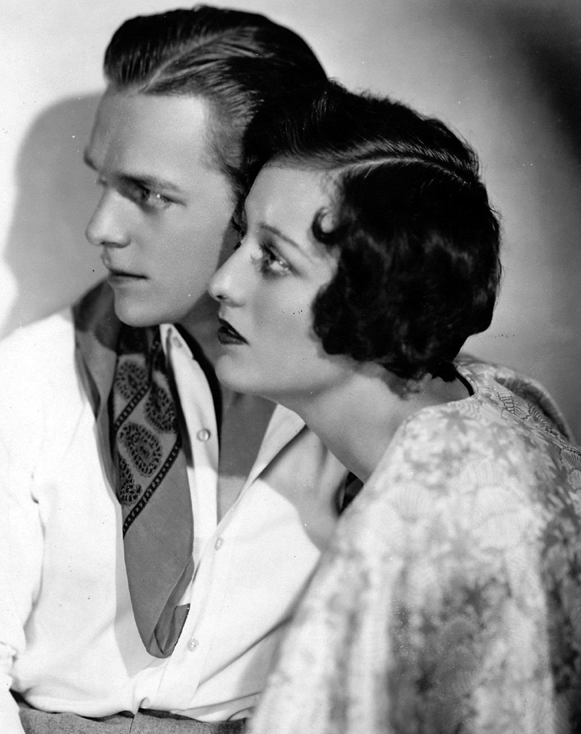 1929. With Doug Fairbanks, Jr.