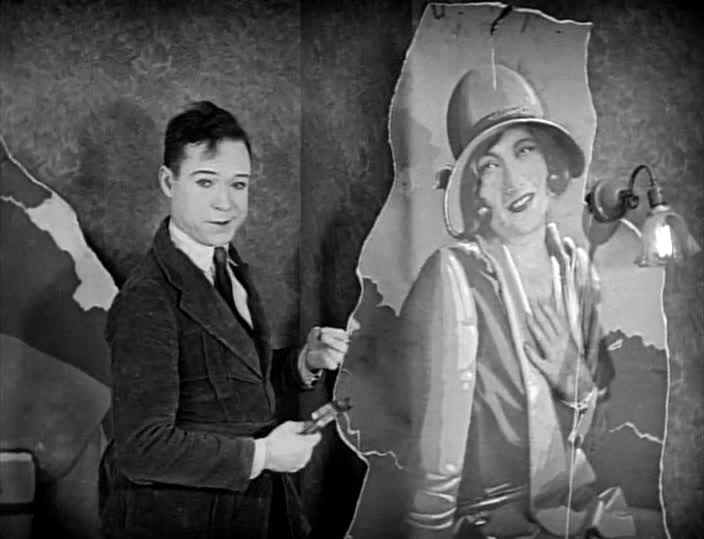 1926. 'Tramp, Tramp, Tramp,' with Harry Langdon.