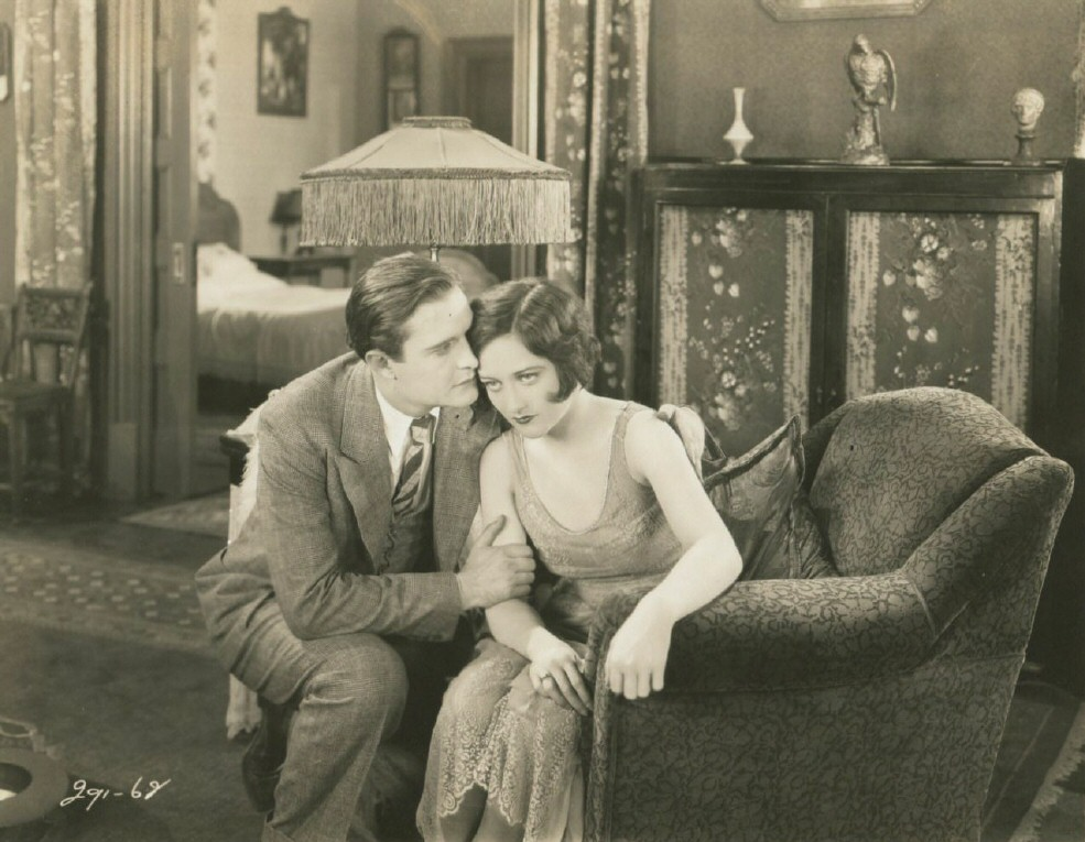 1927. 'The Taxi Dancer.' With Douglas Gilmore.