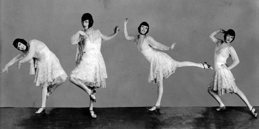 1927. Doing the Lindy Hop.