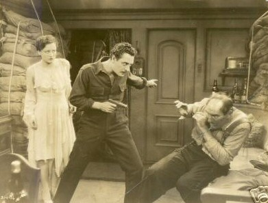 With John Gilbert and Ernest Torrence.