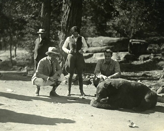 1927. 'The Understanding Heart.' With director Conway and Francis X. Bushman, Jr.