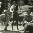 1927. On the set of 'Understanding Heart' with director Jack Conway and Francis X. Bushman, Jr.