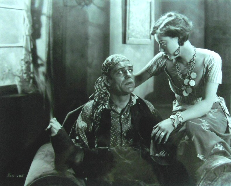 1927. With Lon Chaney in 'The Unknown.'