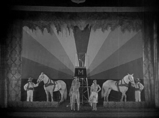 1927. 'The Unknown' screen shot.