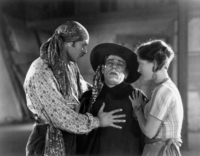 1927, 'The Unknown.' With Norman Kerry and Lon Chaney.