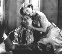 Joan with a smokin' Lon Chaney.