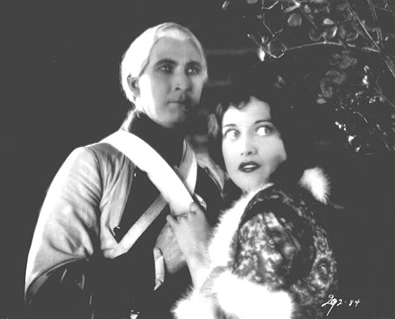 1927, 'Winners of the Wilderness,' with Tim McCoy.