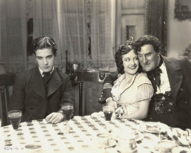 With Ramon Novarro, left, and Ernest Torrence.