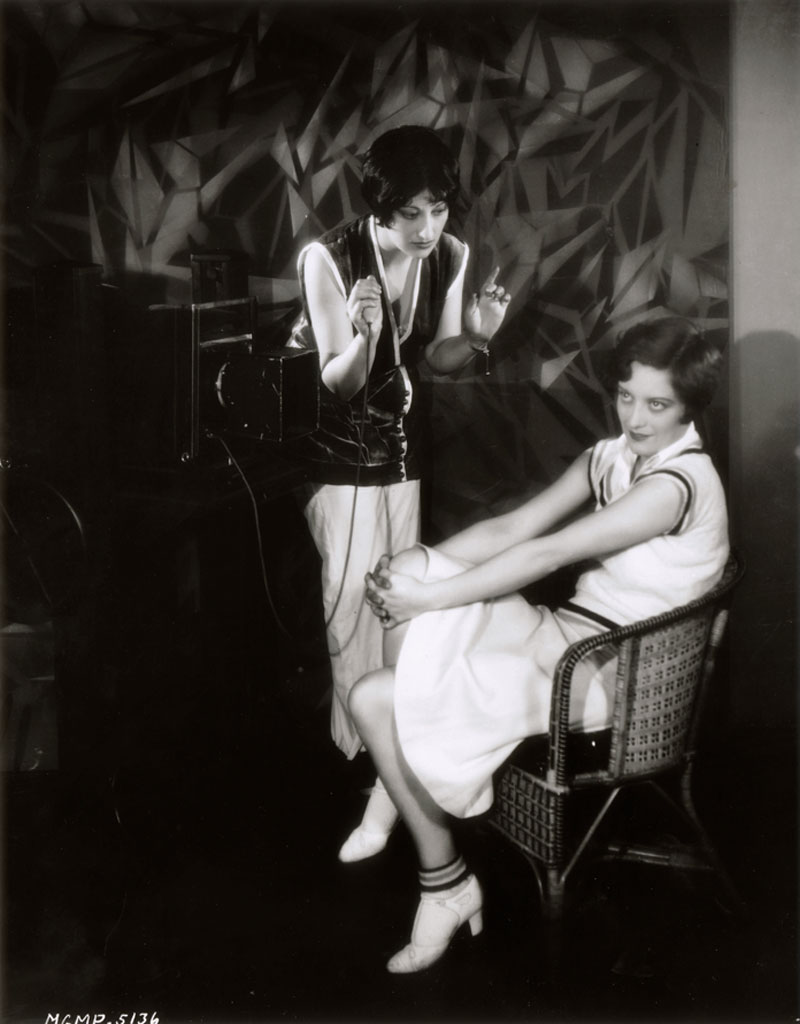 Being photographed by Ruth Harriet Louise on 5/14/28.
