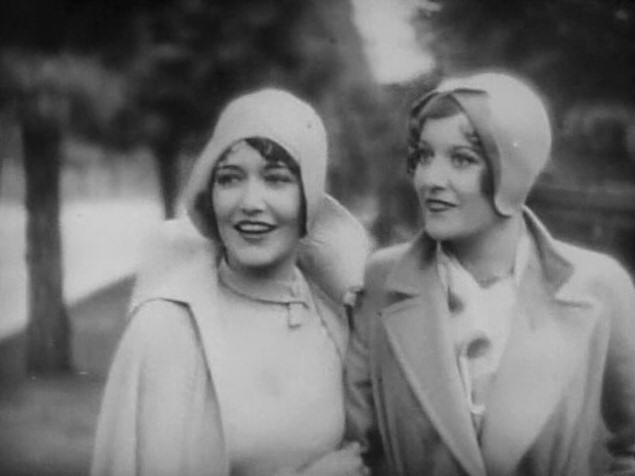 1928. 'Our Dancing Daughters.' Screen shot with Dorothy Sebastian.