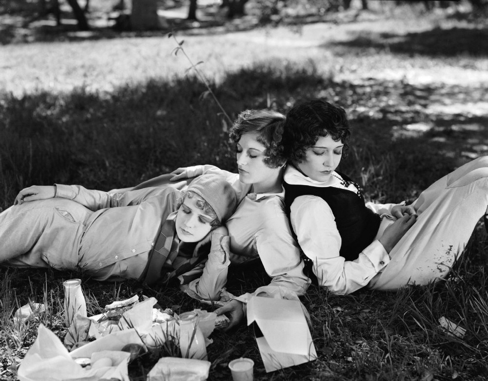 1928. 'Our Dancing Daughters.' With Anita Page and Dorothy Sebastian.