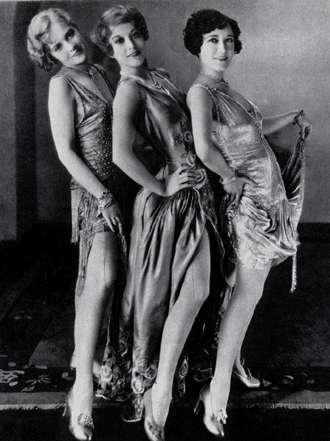 1928, 'Our Dancing Daughters,' with Anita Page and Dorothy Sebastian.