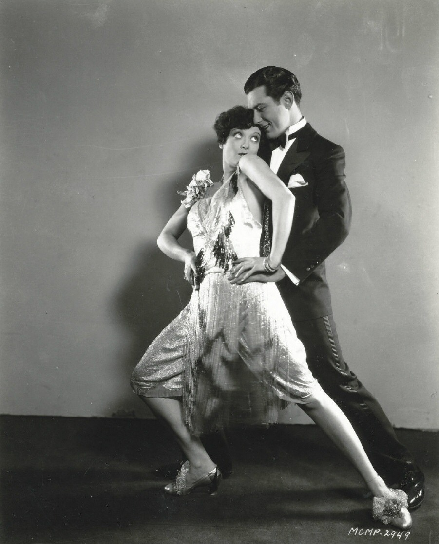 1928. 'Our Dancing Daughters.' With Johnny Mack Brown.