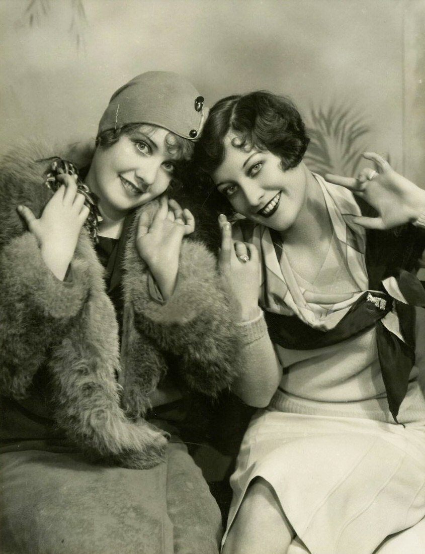 1928 publicity with Anita Page, shot by Ruth Harriet Louise.