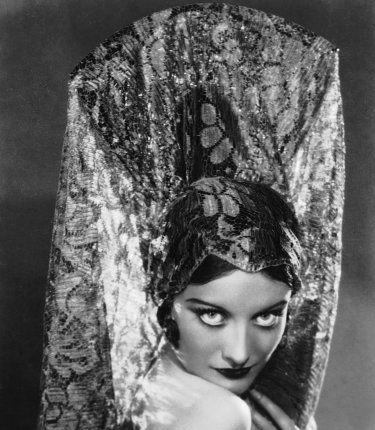 1928. Shot by Ruth Harriet Louise for 'Tide of Empire.'