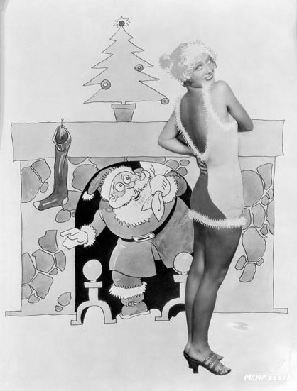 1929 Christmas cartoon.