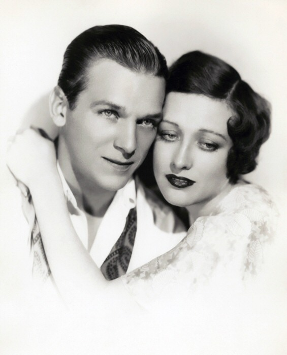 1929 publicity with husband Doug Fairbanks, Jr.