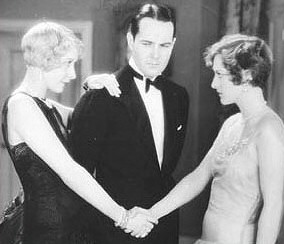 Gwen Lee, William Haines, Joan.