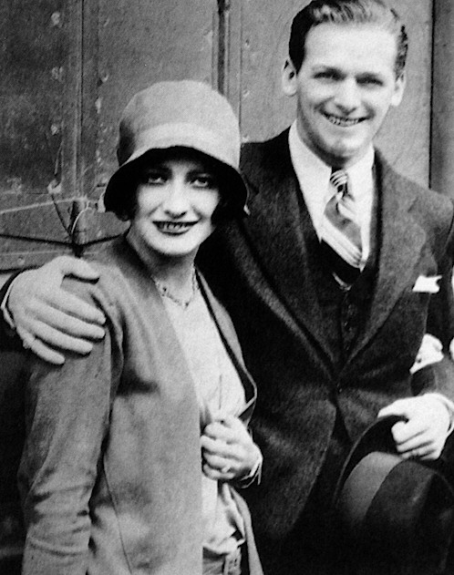 June 10, 1929. Joan and Doug arriving back in LA after their wedding.