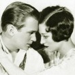 A page from 'Screen Book' magazine with husband Douglas Fairbanks, Jr.