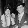 May 30, 1929. Joan and Doug on the 20th Century Limited at Grand Central Station, days before their wedding.