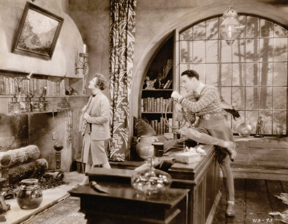 1929. 'Our Modern Maidens' film still with Rod LaRocque.