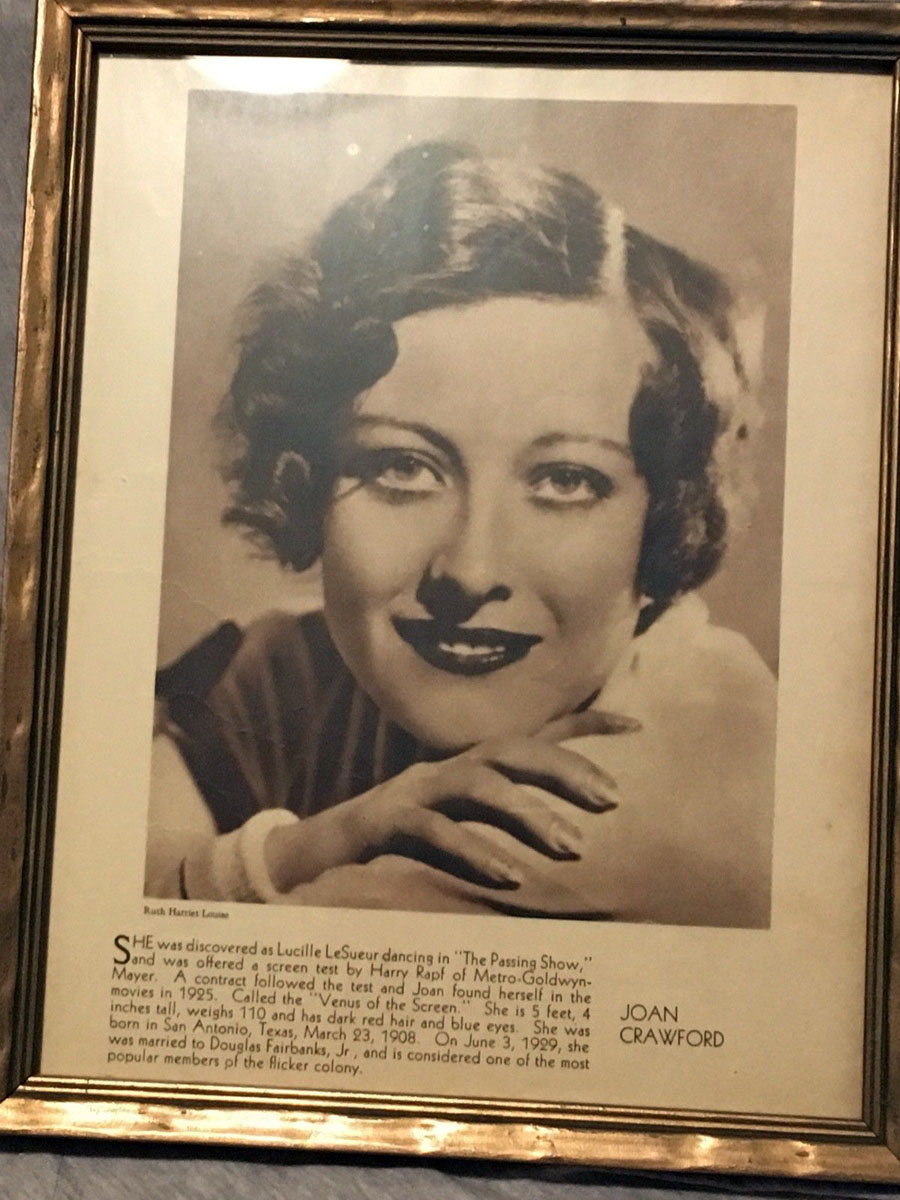 1929 publicity by Ruth Harriet Louise in unknown magazine.