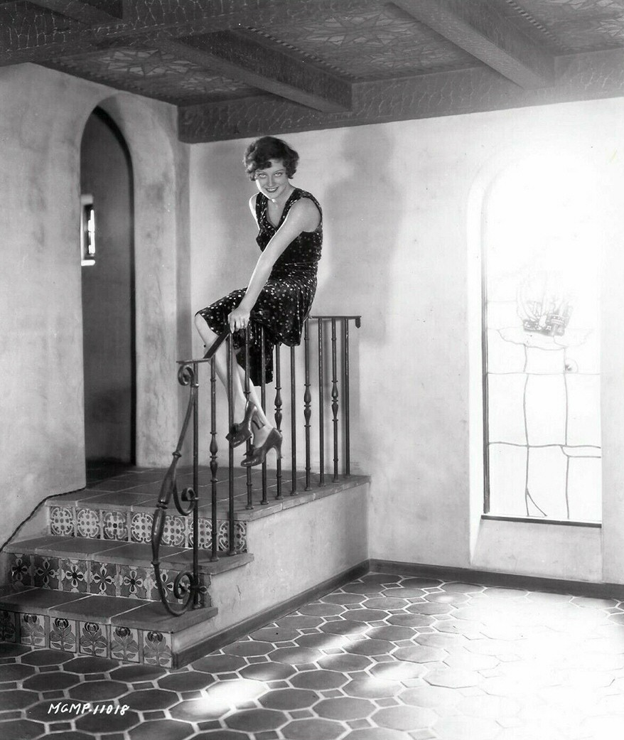 1929. Publicity at home shot by Ruth Harriet Louise.