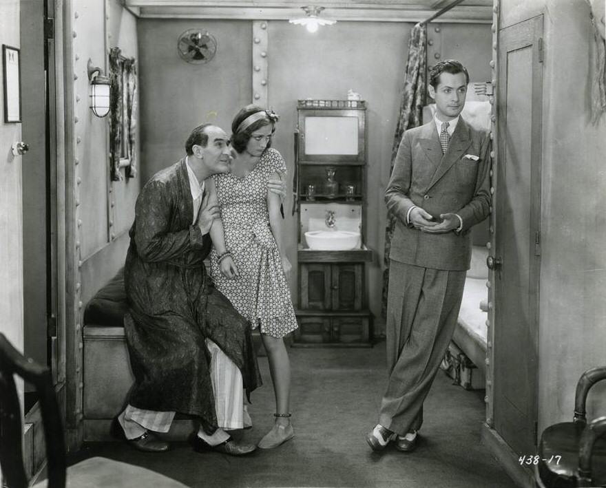1929. 'Untamed.' With Ernest Torrence and Robert Montgomery.