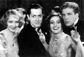 From left: Gwen Lee, Robert Montgomery, Joan, Don Terry.