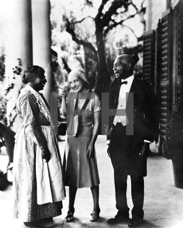 1930 film still from the unreleased 'Great Day!'