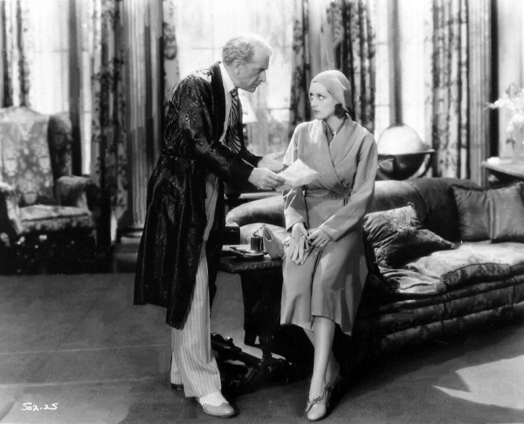 1930. A film still from 'Great Day!'