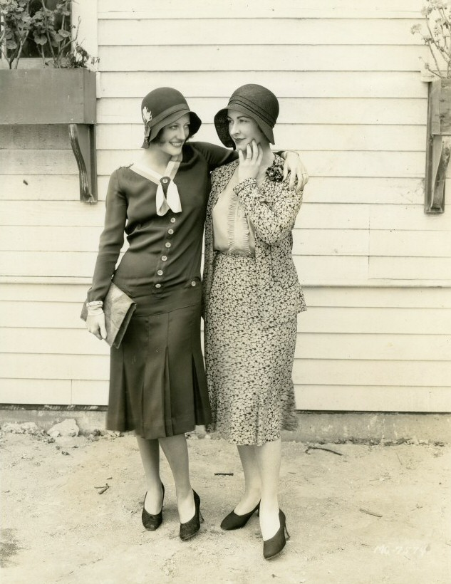 1930. With British actress Kay Hammond.