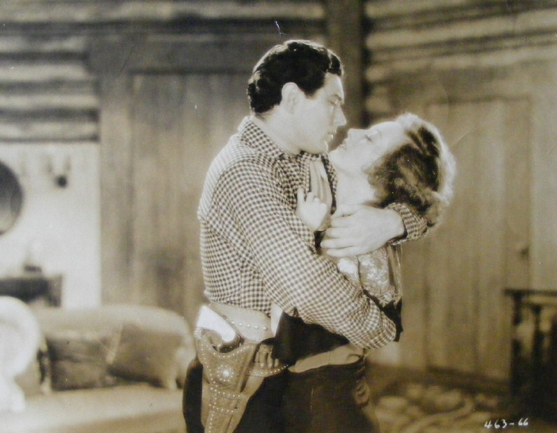 1930. 'Montana Moon.' With Johnny Mack Brown.