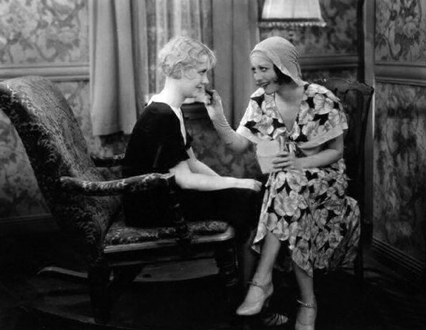1930. Screen shot from 'Our Blushing Brides' with Anita Page.