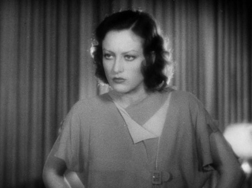 1930. Screen shot from 'Paid.'