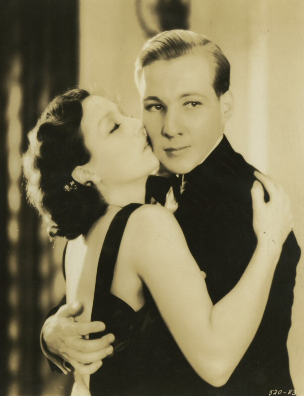 1930 in 'Paid,' with Kent Douglass.