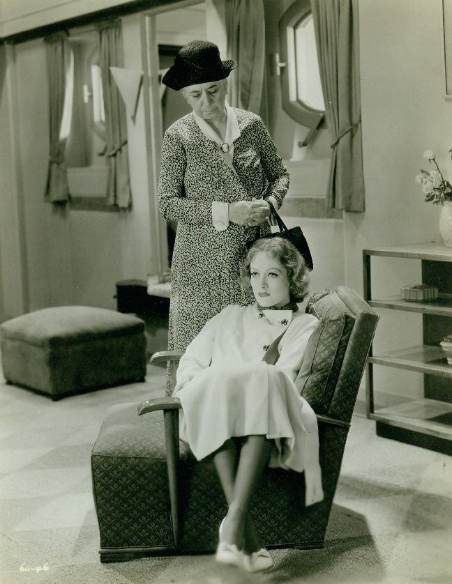 1932. 'Letty Lynton.' With Louise Closser Hale.