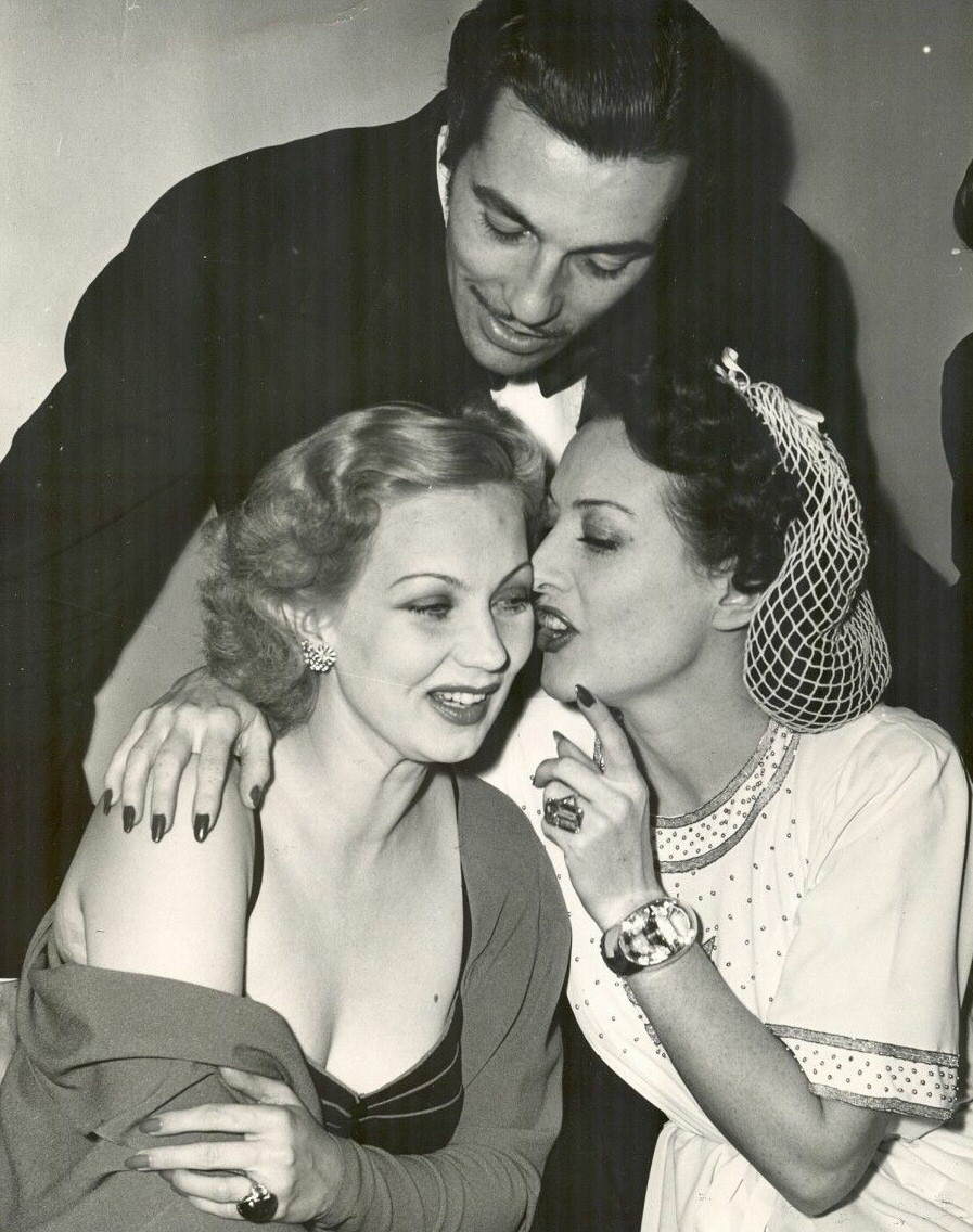 1939. With Ann Sothern and Cesar Romero.