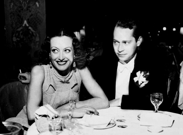 12/27/33 at the Cocoanut Grove with Franchot Tone.