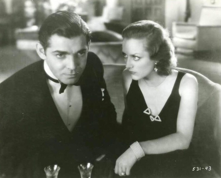 1931. 'Dance, Fools, Dance.' With Clark Gable.