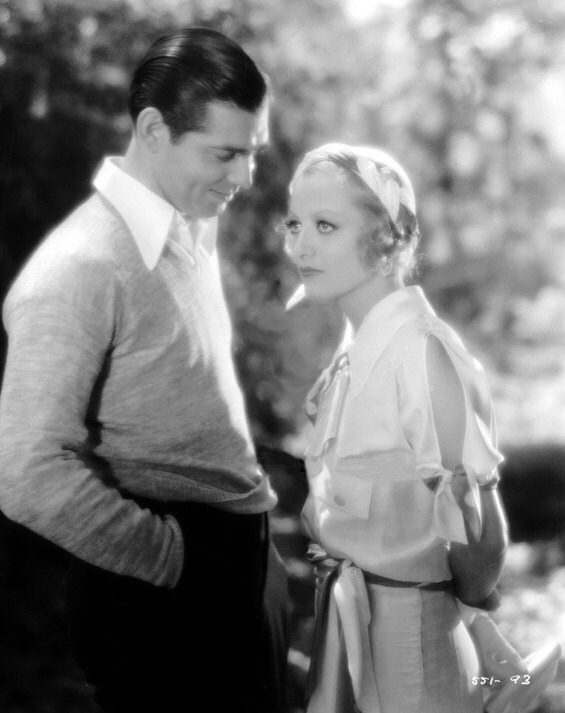 1931. 'Laughing Sinners.' With Clark Gable.