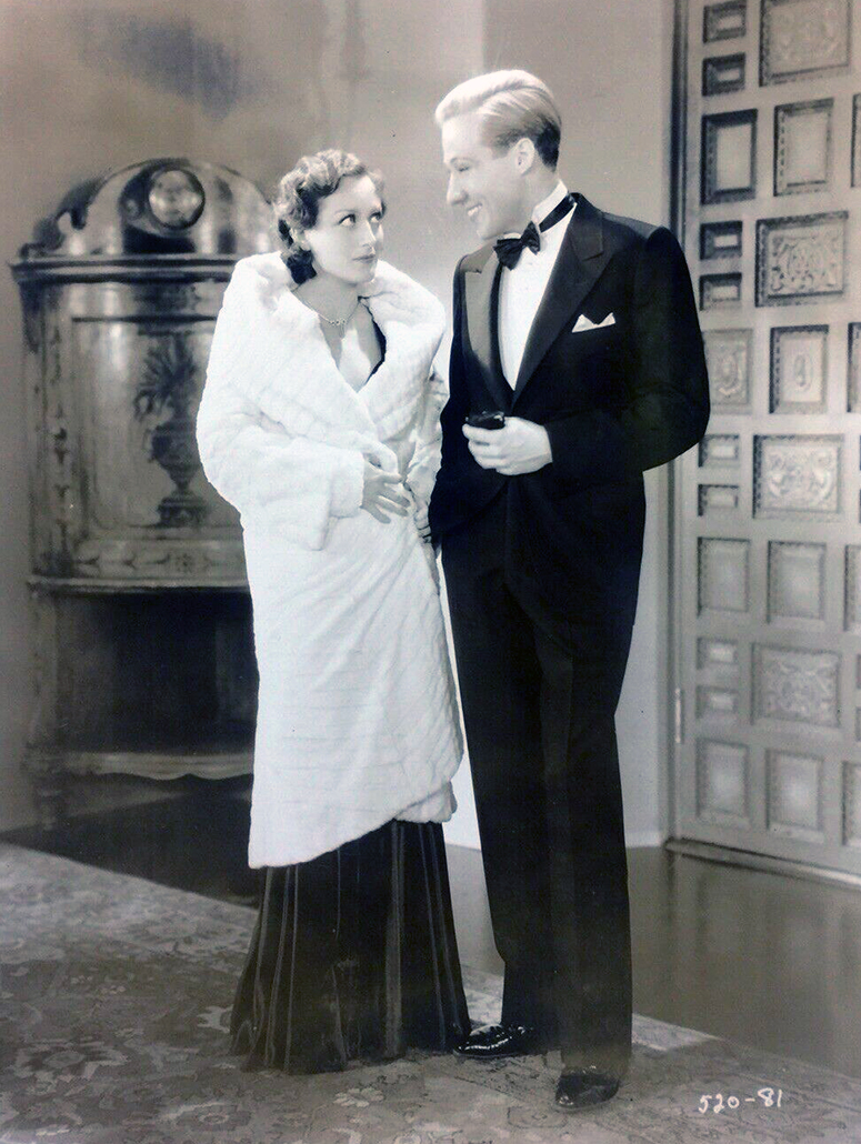 1930. Film still from 'Paid' with Kent Douglass.