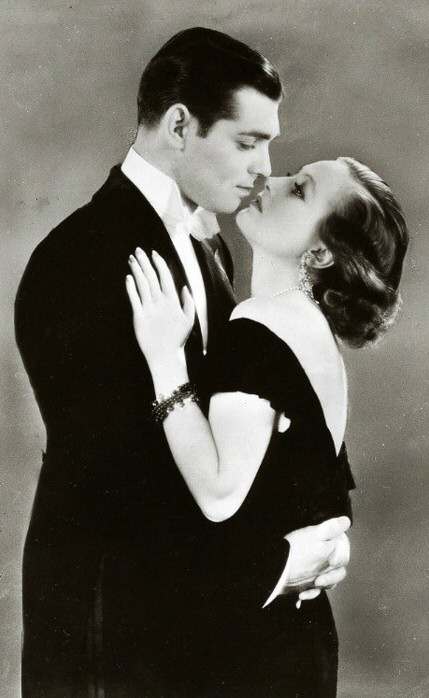 1931 publicity for 'Possessed' with Clark Gable.