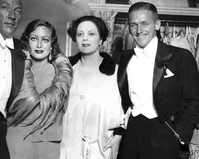 July 1932. With Noel Coward, Mary Clare, and husband Doug at 'Cavalcade.'