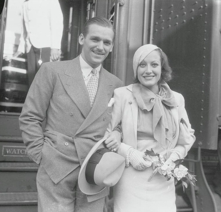 Summer 1932. Joan and Doug Jr. back in California after their belated European honeymoon.