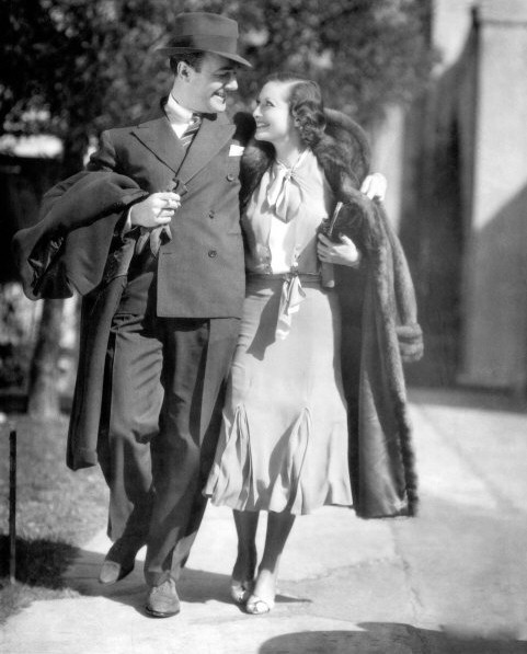 1932 candid with Willaim Haines.