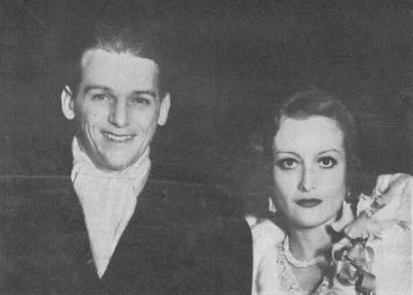 1932. With husband Doug Fairbanks, Jr.