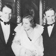 1932. With husband Doug Fairbanks, Jr., and Leslie Howard at unknown event.